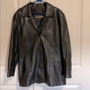 Black Boutique of Leather Coat